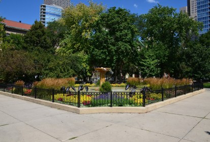 Washington Square Park in Chicago, Illinois
