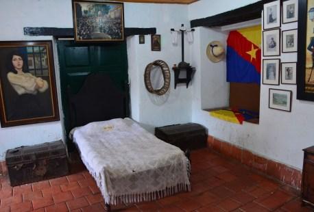 La Pola Display at the Casa de la Cultura in Guaduas, Cundinamarca, Colombia