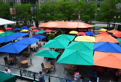 McCormick Tribune Plaza at Millennium Park in Chicago