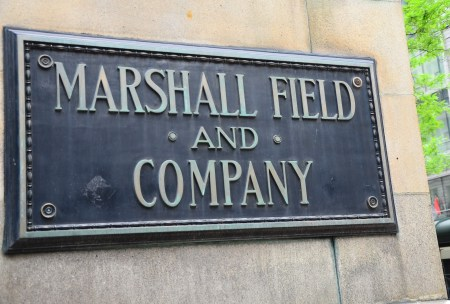 Marshall Field and Company Sign in Chicago