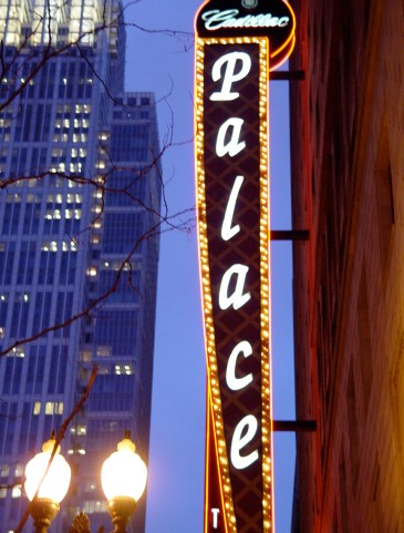 Palace Theatre in Chicago