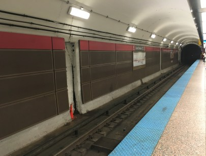Clark & Division CTA Red Line in Chicago, Illinois