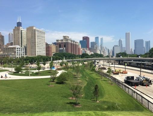 Grant Park in Chicago, Illinois
