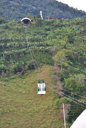 Cable Car in Jardín, Antioquia, Colombia