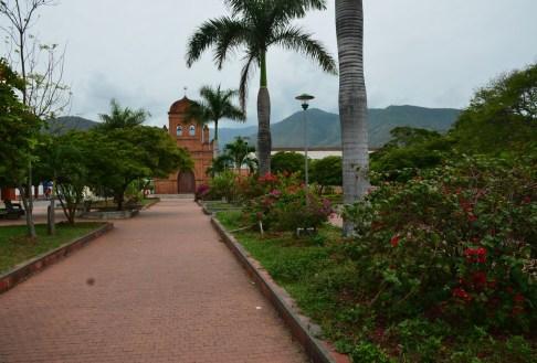 Parque de La Ermita in Roldanillo park Colombia Valle del Cauca