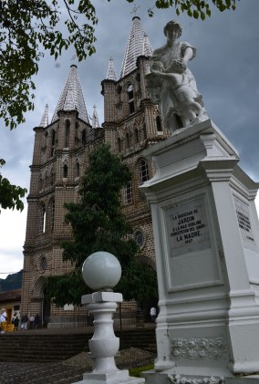 Church in Jardín, Antioquia, Colombia
