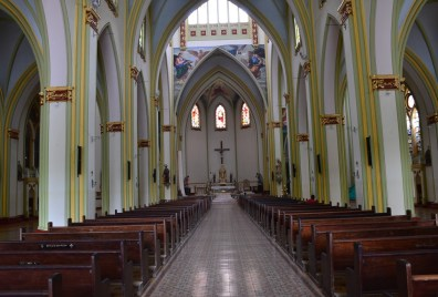 Church in Andes, Antioquia, Colombia