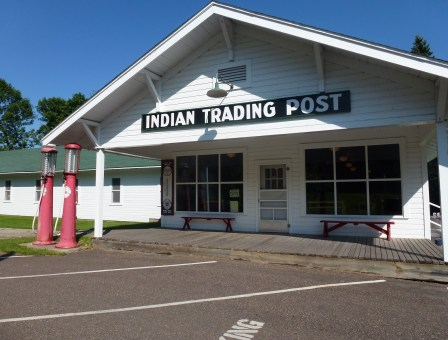 Mille Lacs Indian Trading Post in Minnesota