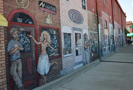 Mural in Valparaiso, Indiana