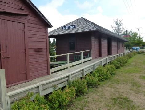 Nisswa Depot in Minnesota