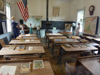 School at Pioneer Village in Nisswa, Minnesota