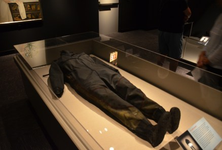Wetsuit from the Great Chicago Flood at the Chicago History Museum