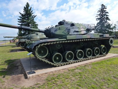Tank at Minnesota Military Museum at Camp Ripley