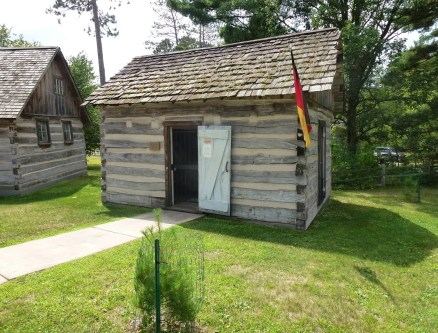 German House at Pioneer Village in Nisswa, Minnesota