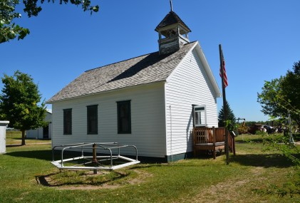 Church at Lincoln Country Historical Museum in North Platte Nebraska