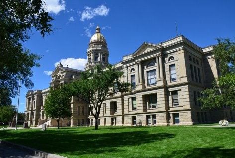 Wyoming State Capitol in Cheyenne