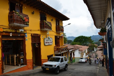 Hotel Portón Plaza in Jericó Antioquia Colombia