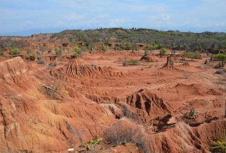 Desierto de la Tatacoa in Colombia