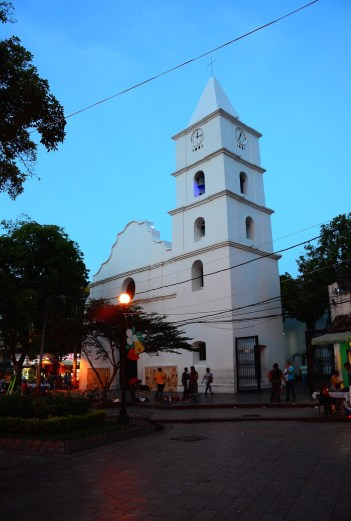 Colonial Church of Neiva Colombia