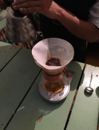 Recuca coffee tasting