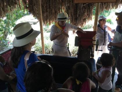 Recuca coffee processing area