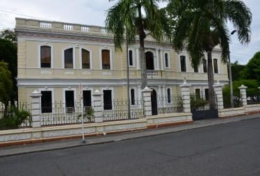 Palacio de Justicia on Parque Céspedes in Tuluá, Valle del Cauca, Colombia