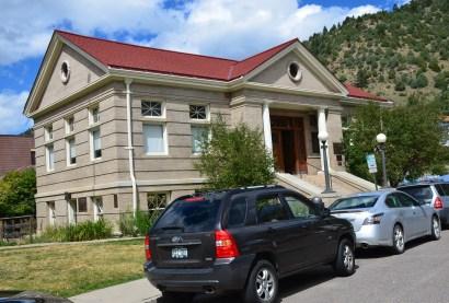 Carnegie Library in Idaho Springs, Colorado