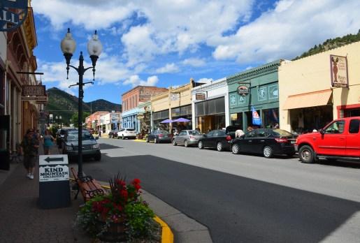 Miner Street in Idaho Springs, Colorado