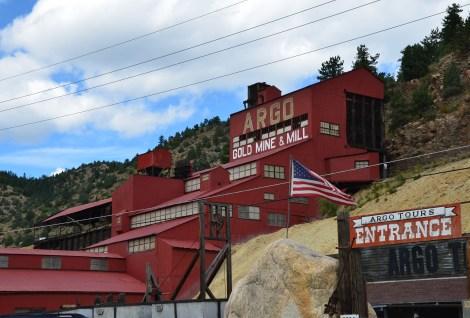 Argo Gold Mine in Idaho Springs, Colorado