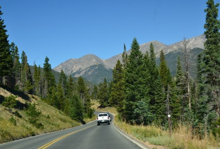 Trail Ridge Road in Rocky Mountain National Park, Colorado