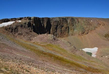Lava Cliffs on Trail Ridge Road in Rocky Mountain National Park, Colorado