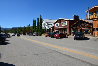 Grand Avenue in Grand Lake, Colorado