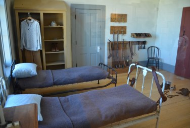 Guard's quarters at Wyoming Territorial Prison State Historic Site in Laramie