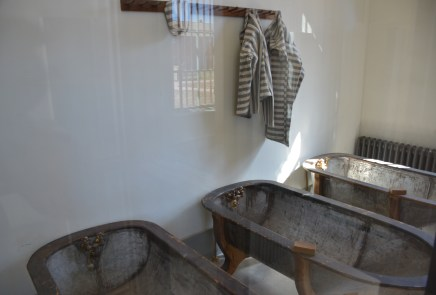 Bathroom at Wyoming Territorial Prison State Historic Site in Laramie