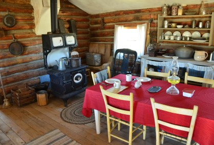 Chimney Rock Ranch at the pioneer village at Wyoming Territorial Prison State Historic Site in Laramie