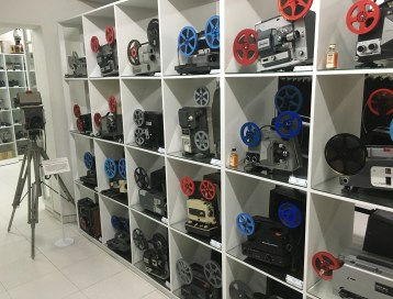 Home projectors at Caliwood in Cali, Colombia