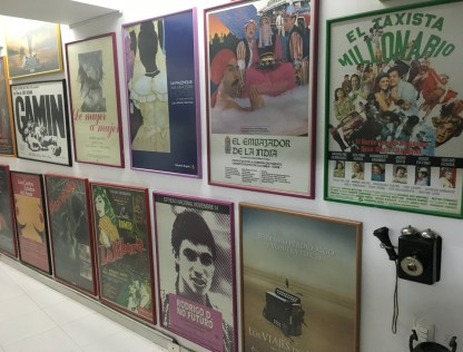 Colombian movie posters at Caliwood in Cali, Colombia