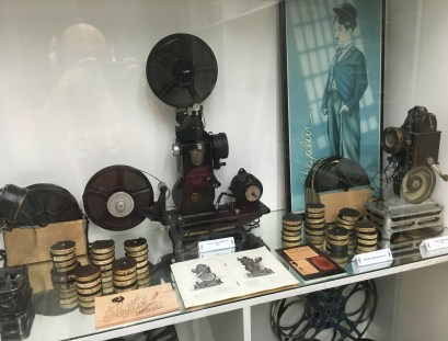 Antique home projector at Caliwood in Cali, Colombia