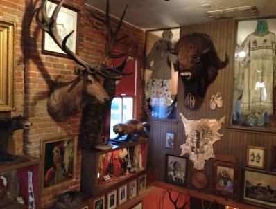 Decorations at Buckhorn Exchange in Denver, Colorado