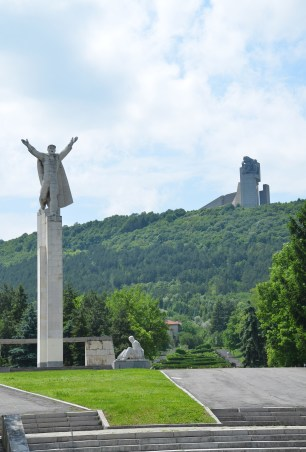 Monument of Freedom and Founders of the Bulgarian State Monument in Shumen, Bulgaria