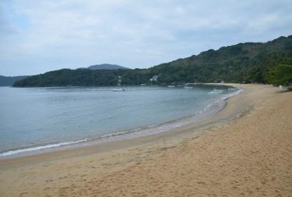 Praia das Palmas on Ilha Grande, Brazil