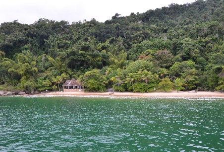 Praia das Lulas on the Paraty Bay boat tour, Brazil