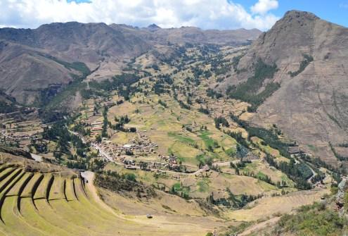 View from Pisac, Peru