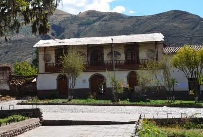 Casa de los Medallones in Andahuaylillas, Peru