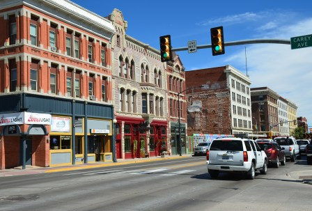 Lincolnway in Cheyenne, Wyoming