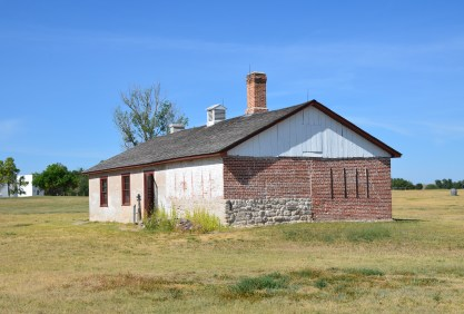 Old bakery at Fort Laramie National Historic Site in Wyoming
