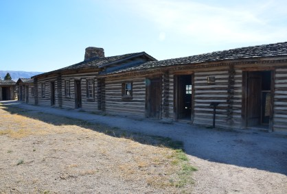 Replica of Fort Caspar in Casper, Wyoming