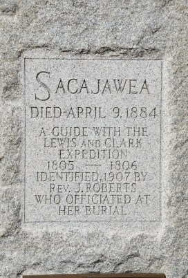 Sacajawea gravesite in Fort Washakie, Wyoming