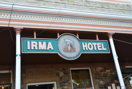 Irma Hotel in Cody, Wyoming