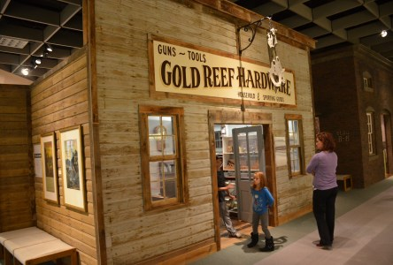 at the Cody Firearms Museum at the Buffalo Bill Center of the West in Cody, Wyoming